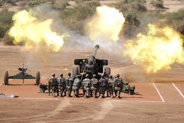 印度将部署155毫米榴弹炮射程36千米 曾是我们渴望的装备