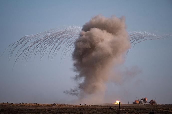 高加索战略演习展开作战筹划演练:中俄两军增进军事互信图片