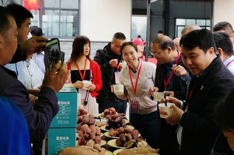 息县举行2020年农民丰收节暨首届东岳红红薯节