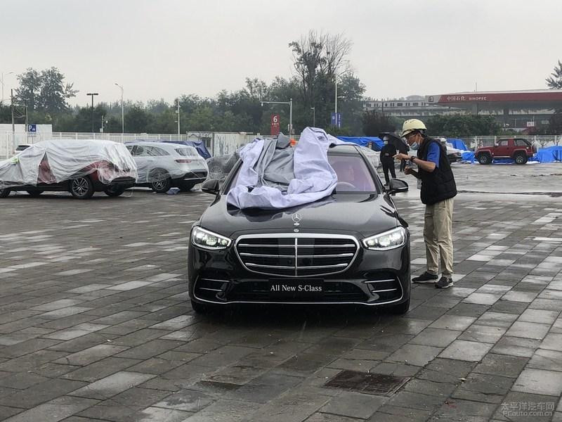 2020北京车展探馆:新一代奔驰S级实车