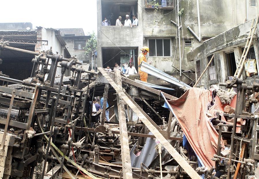印度西部建筑倒塌事故遇难者人数上升至37人