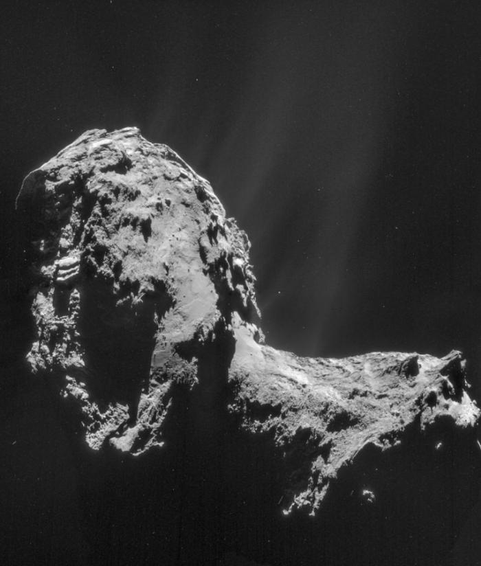 外媒:科学家首次在彗星周围探测到极光