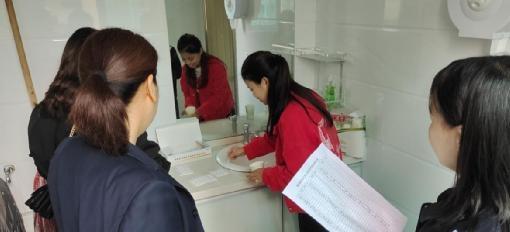 章华镇:对公职人员进行禁毒尿检