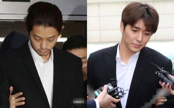 郑俊英、崔钟训因违反性暴力法,分别被判有期徒刑5年及2年半图片
