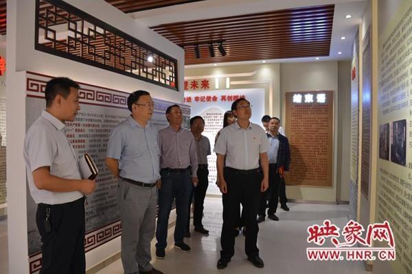许昌市委党史研究室王民生带队开展调研和党史宣讲活动