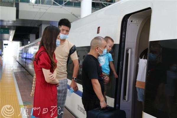 创新高!国庆中秋假期,厦门将加开城际动车37列!