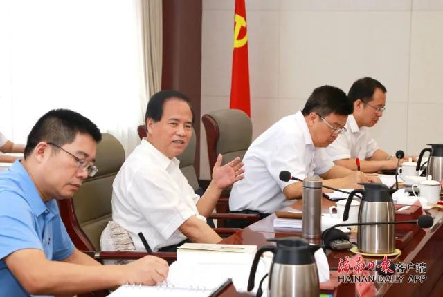 刘赐贵参加所在党支部学习活动时,特别分享了这三点学习心得体会