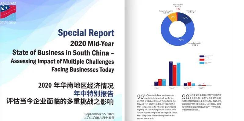 点·道丨华南美国商会公布调查 九成受访企业对在华发展表示乐观