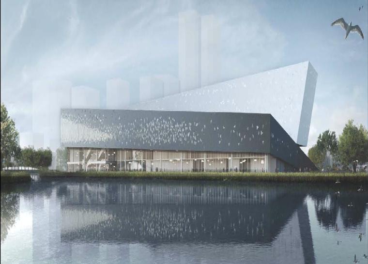 【最新】张江科学会堂钢结构顺利封顶