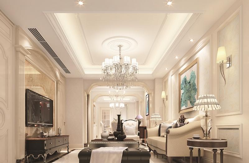 花18万改造135平三居室旧房,欧式风格太漂亮,邻居以为走错门了!