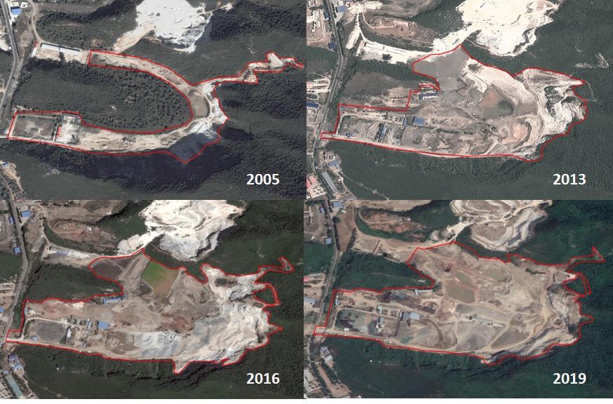 北京一石材公司无证开采毁林地被中央环保督察点名