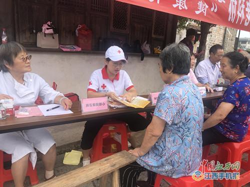 利川红十字会开展健康普及活动(图片)