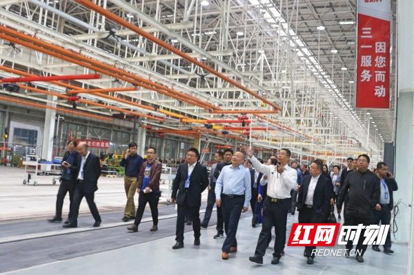 湖南省园区产业高质量发展经验交流现场会(大湘西地区)在邵阳召开
