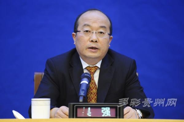 新任贵州省委常委吴强兼任省委秘书长职务 接替刘捷图片
