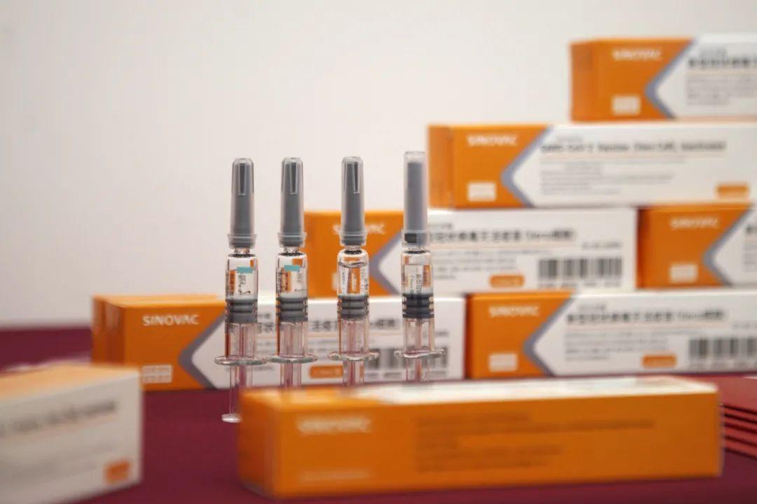 新型冠状病毒灭活疫苗。图:消息联播