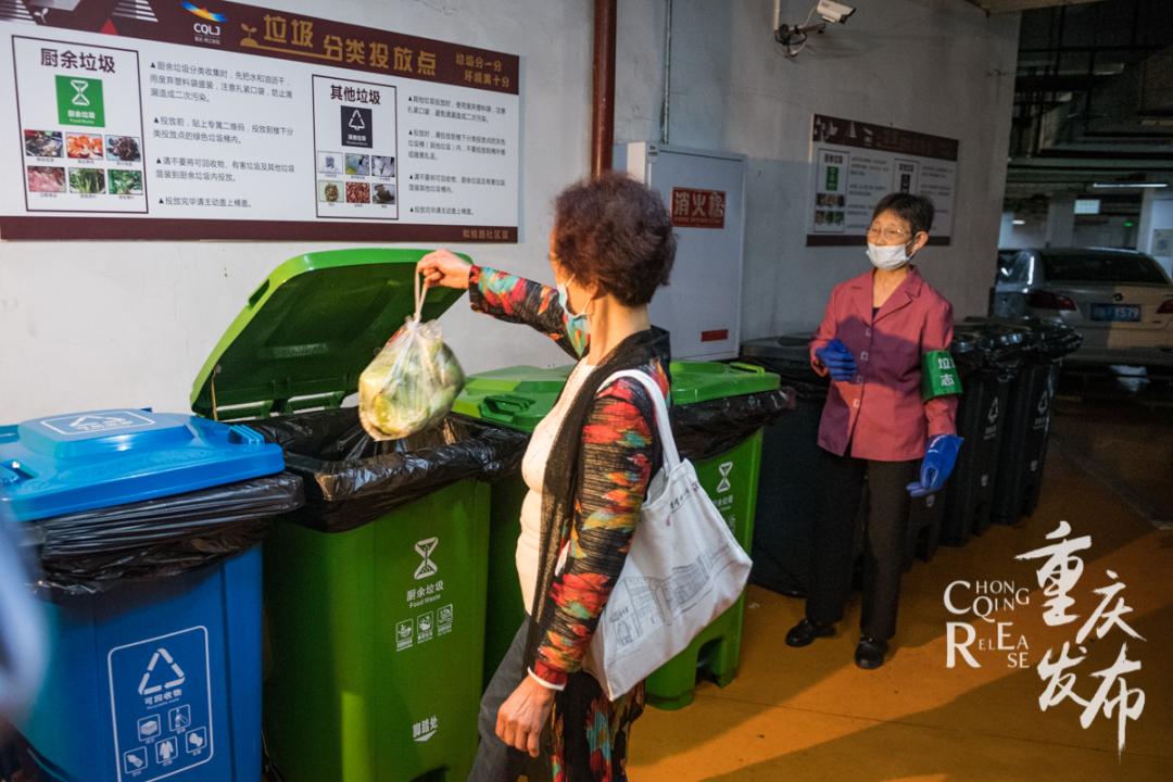 垃圾分类,重庆中心城区居民覆盖率89%图片
