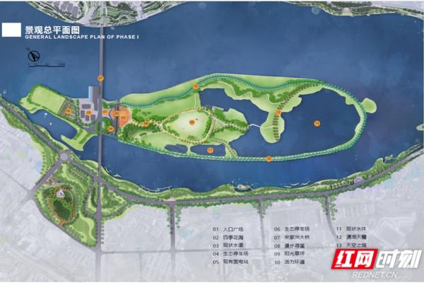 建科园林:不负使命打造永州宋家洲生态休闲公园