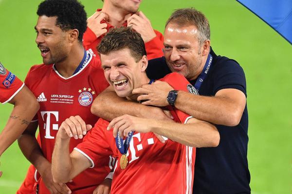 马丁内斯攻入致胜一球 拜仁赢得欧洲超级杯
