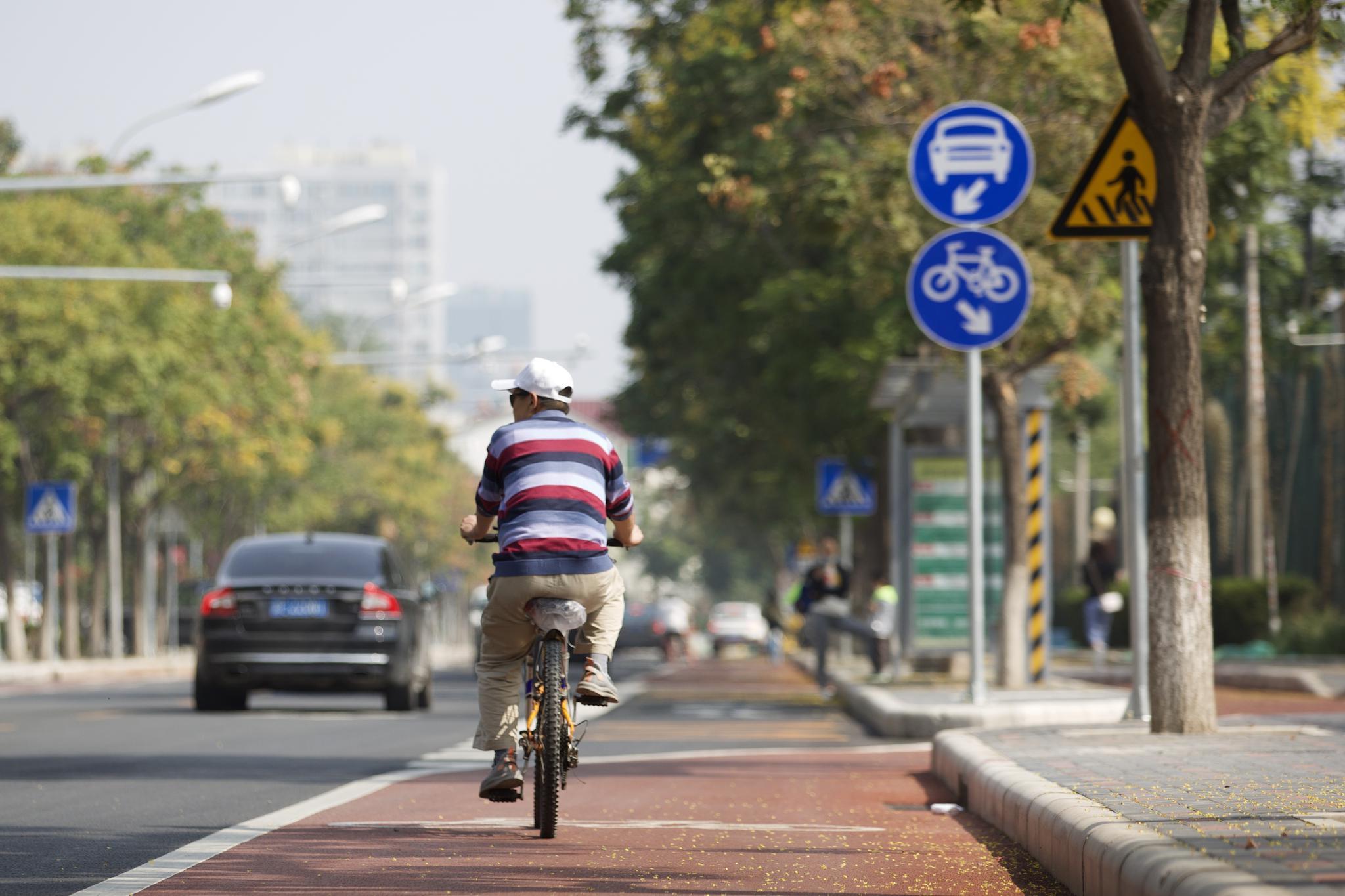 朝阳区CBD、亦庄新城等四处慢行系统示范区预计10月完工图片