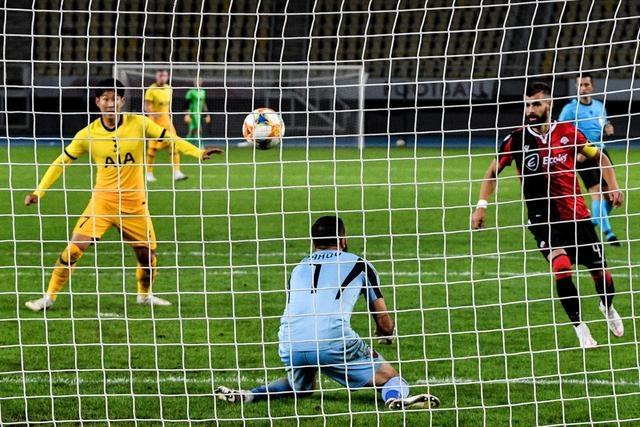 欧罗巴联赛资格赛|热刺胜斯肯迪亚