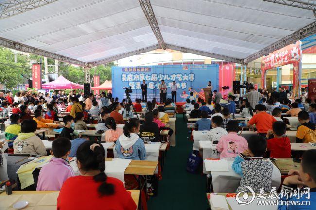 娄底市第七届少儿才艺大赛暨第八届少儿艺术节在棠湖城市广场开启大幕