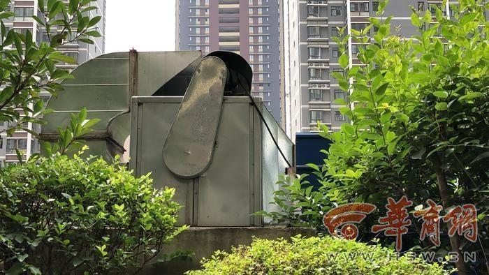 曲江华著中城物业办公室在单元楼地下 噪音影响楼上业主生活