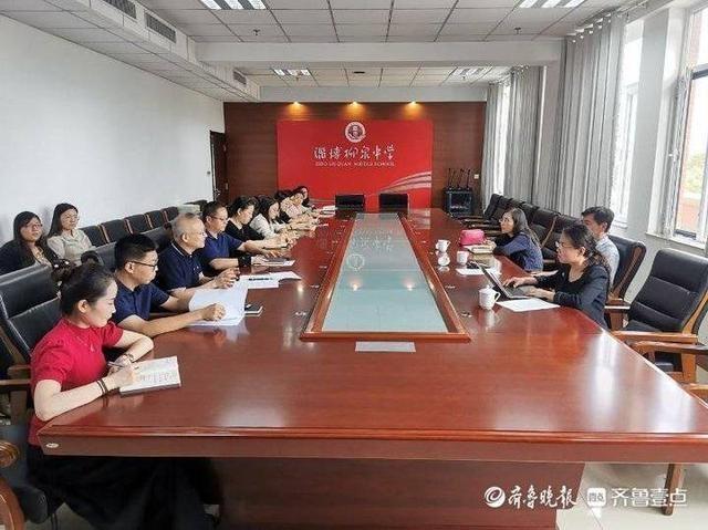 市教育局到淄博柳泉中学调研全科阅读暨书香校园建设工作