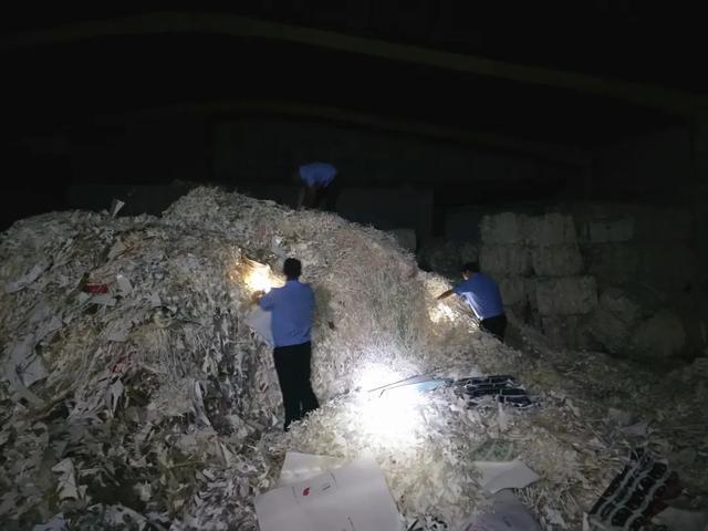 从杭州第一造纸厂80多吨废纸中找出一张
