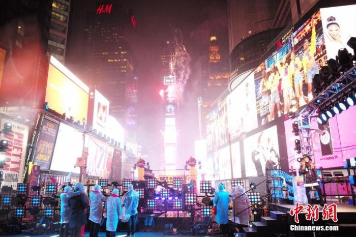 114年首次:美纽约时报广场跨年活动改线上举行
