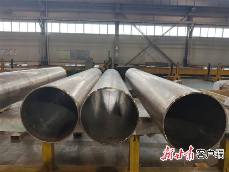 金川集团成功生产船舶用超大超厚铜镍合金管