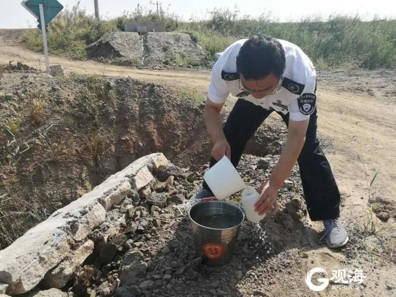 溯清桃源河排污现状 这支队伍徒步20公里对河流问诊把脉