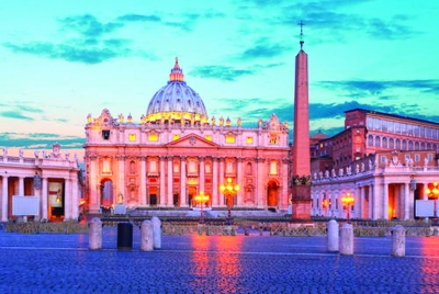 世界上最小的国家——— 梵蒂冈