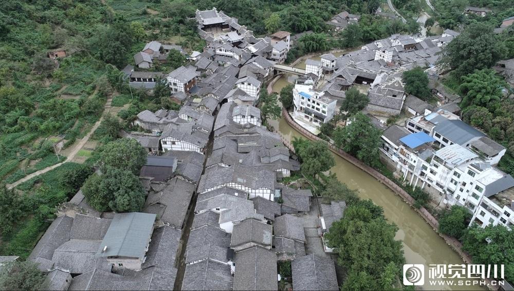视频丨穿越千年的对话 走进内江资中县罗泉古镇