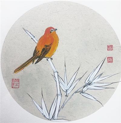鸟语花香(图)