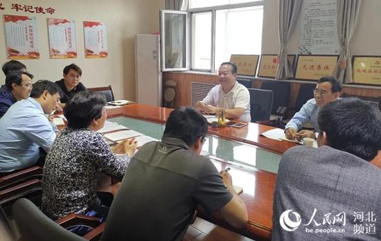 省委网信办副主任牛兰东就基层党建和作风纪律建设到所属事业单位进行专题调研