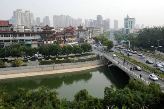 京杭大运河沧州段经济文化带持续发展图片