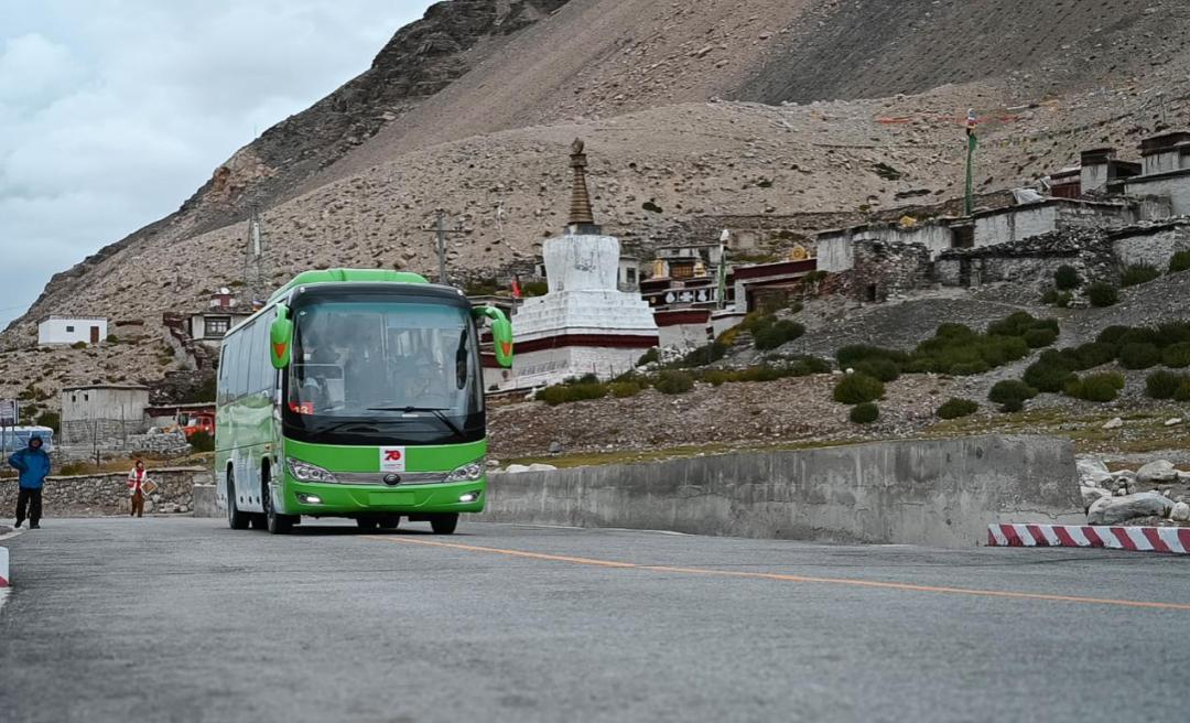 电动客车在珠峰创造吉尼斯世界纪录,意义比你想象的多太多图片