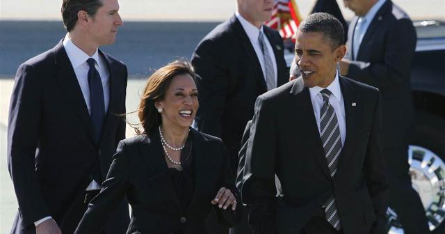 """奥巴马要联手哈里斯为竞选筹款,曾称赞她是美国""""最美州检察长"""""""