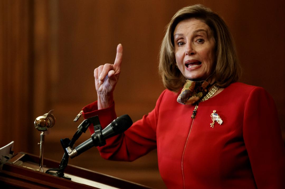 佩洛西:提醒总统先生,您是在美利坚合众国!