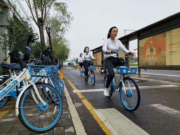 共享单车大数据:济南一整年通过骑行减少碳排放量超1.5万吨