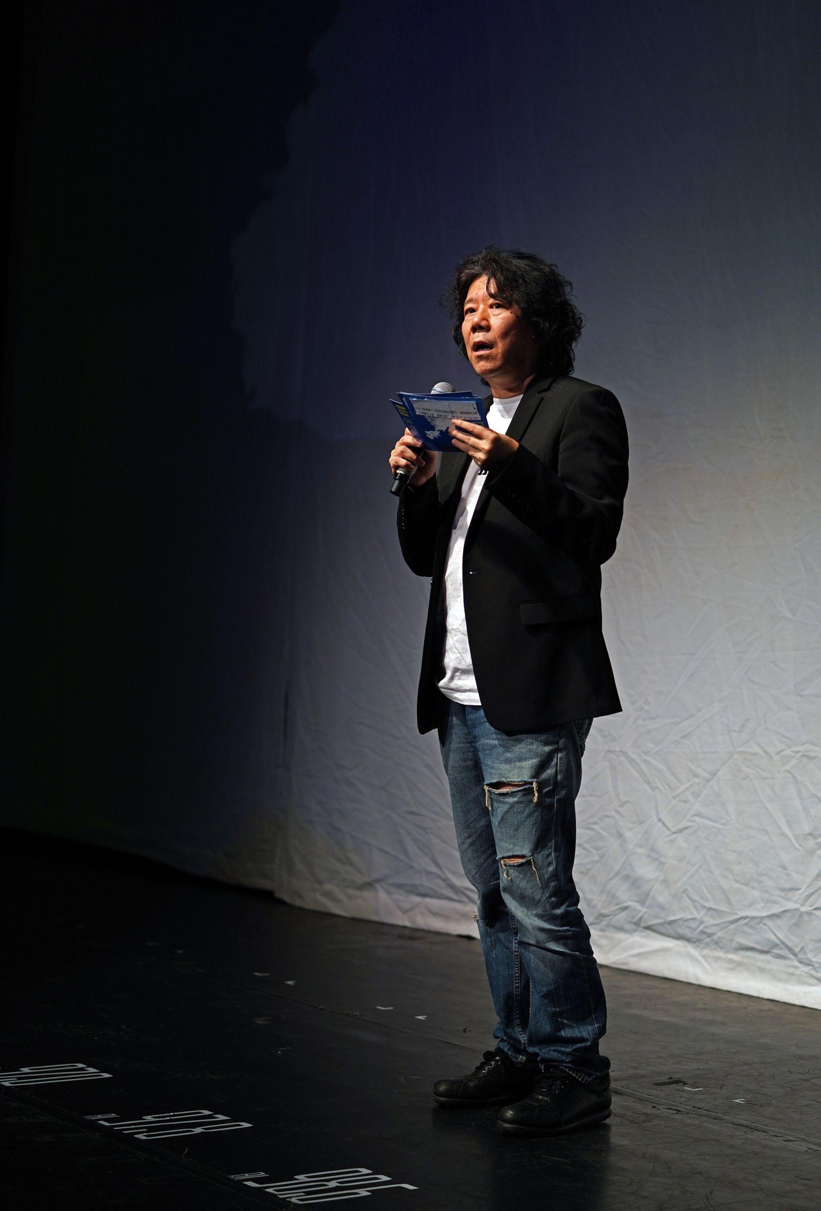 """孟京辉讲述""""美好的一天"""",第十三届北京国际青年戏剧节开幕图片"""