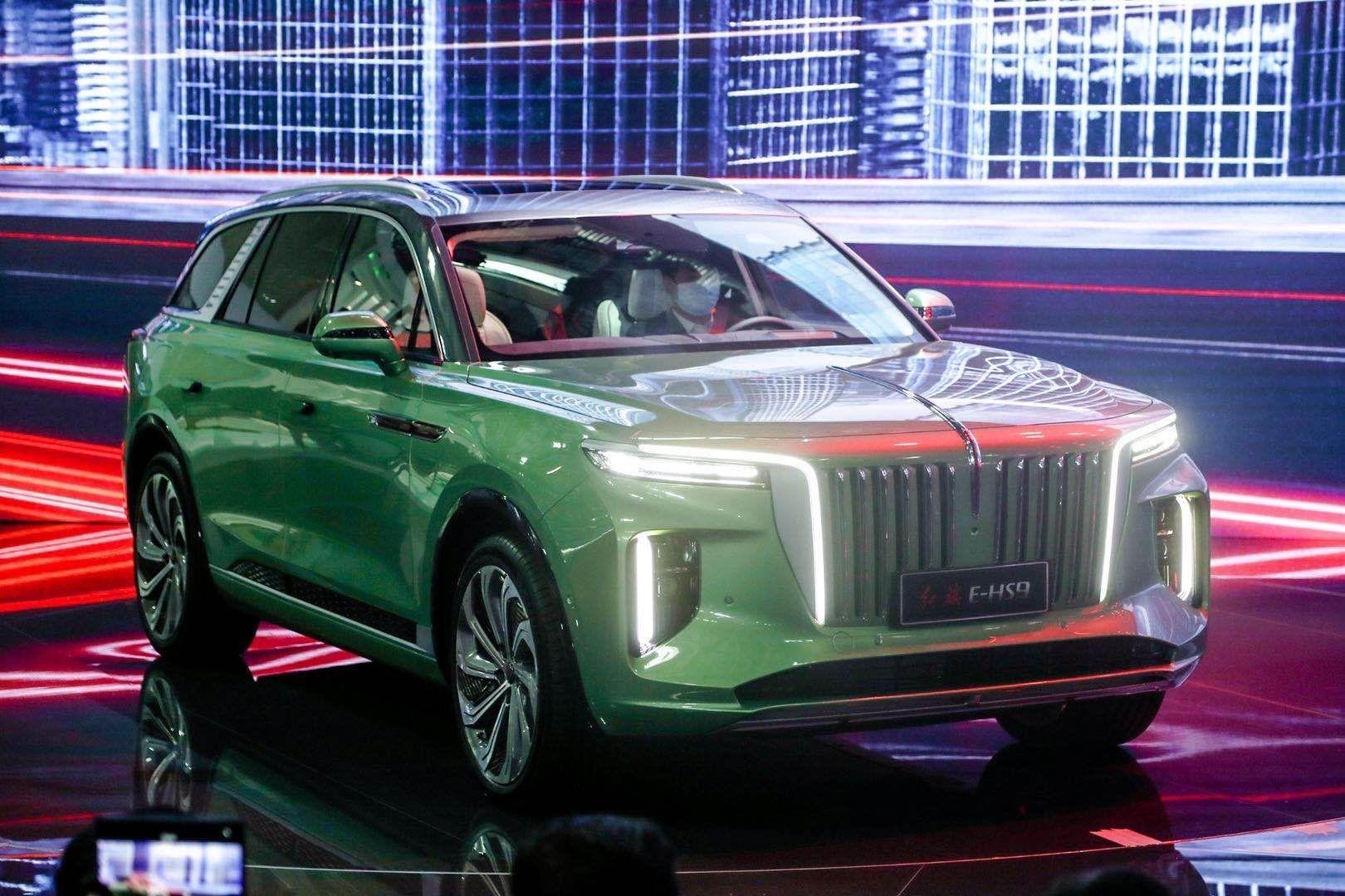 2020北京车展㊱|红旗大型纯电SUV车型E-HS9开启预售图片
