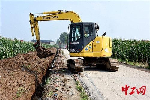 中铁广州局三公司河北任丘建惠民工程