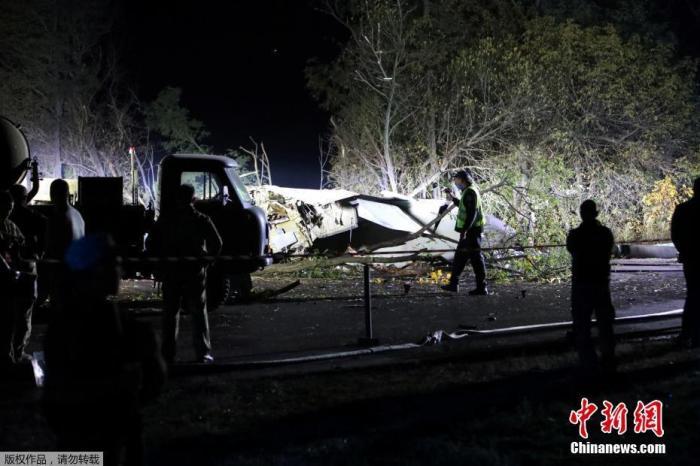 乌克兰军机坠毁致26死 当局宣布9月26日为全国哀悼日图片