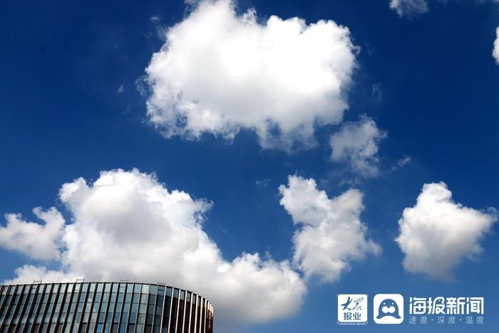 i东营·影像|你知道今天东营的云朵有几种姿态吗?