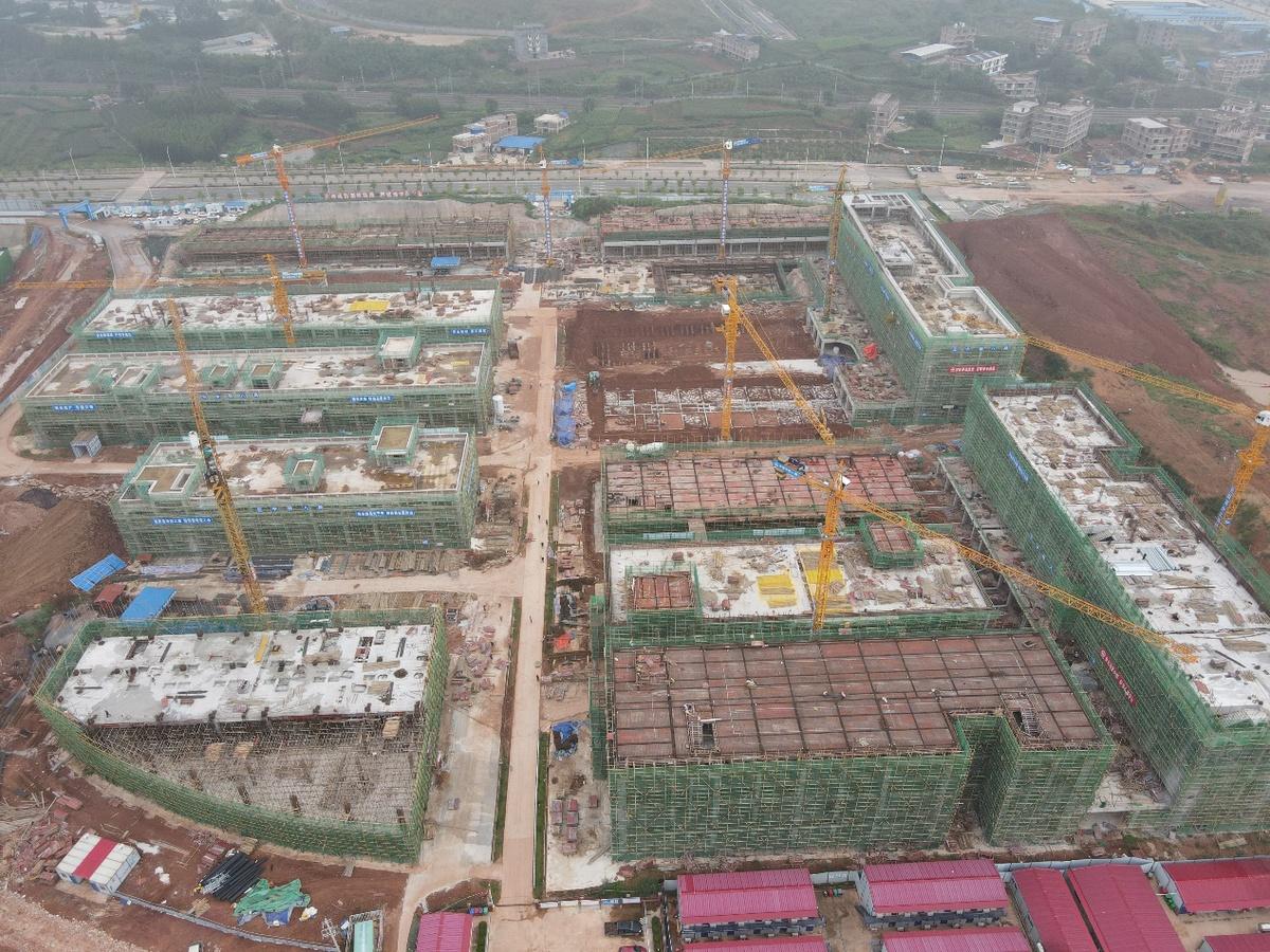 广西(中国-东盟)粮食物流产业园区预计今年11月主体竣工