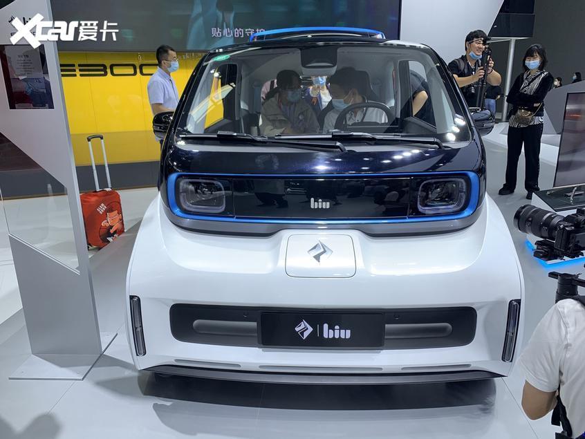 北京车展 新宝骏E300小Biu汽车发布亮相