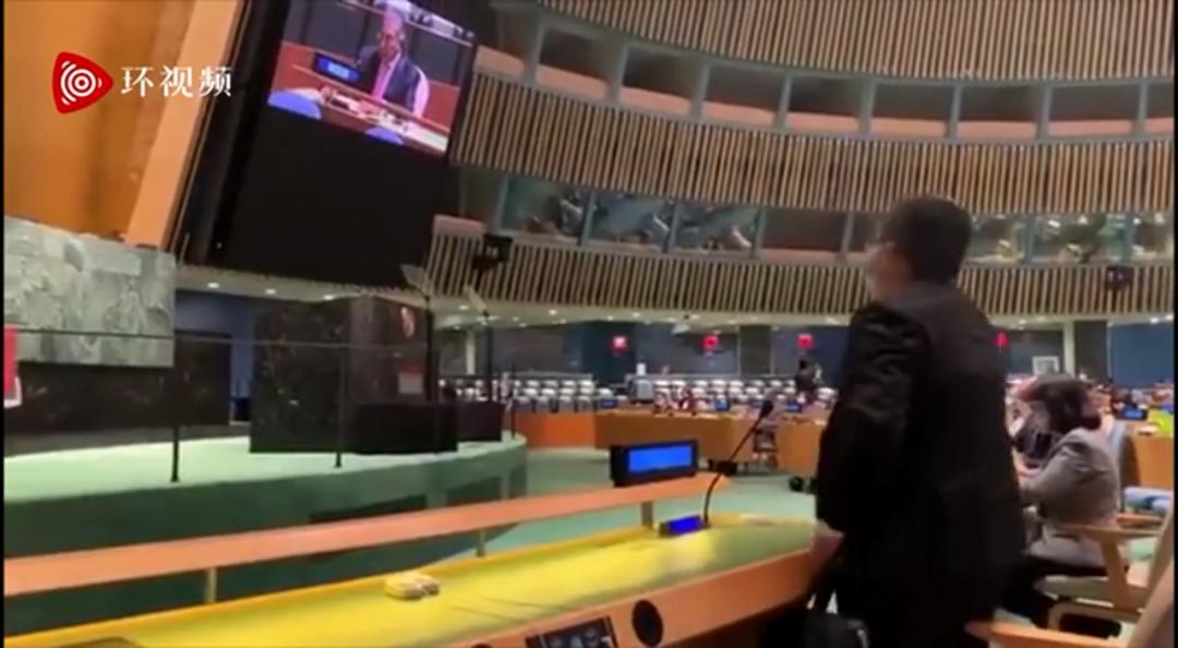 巴总理演讲刚开始,印代表站起来走了…