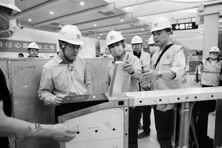 太原地铁首批自动售检票系统到岗