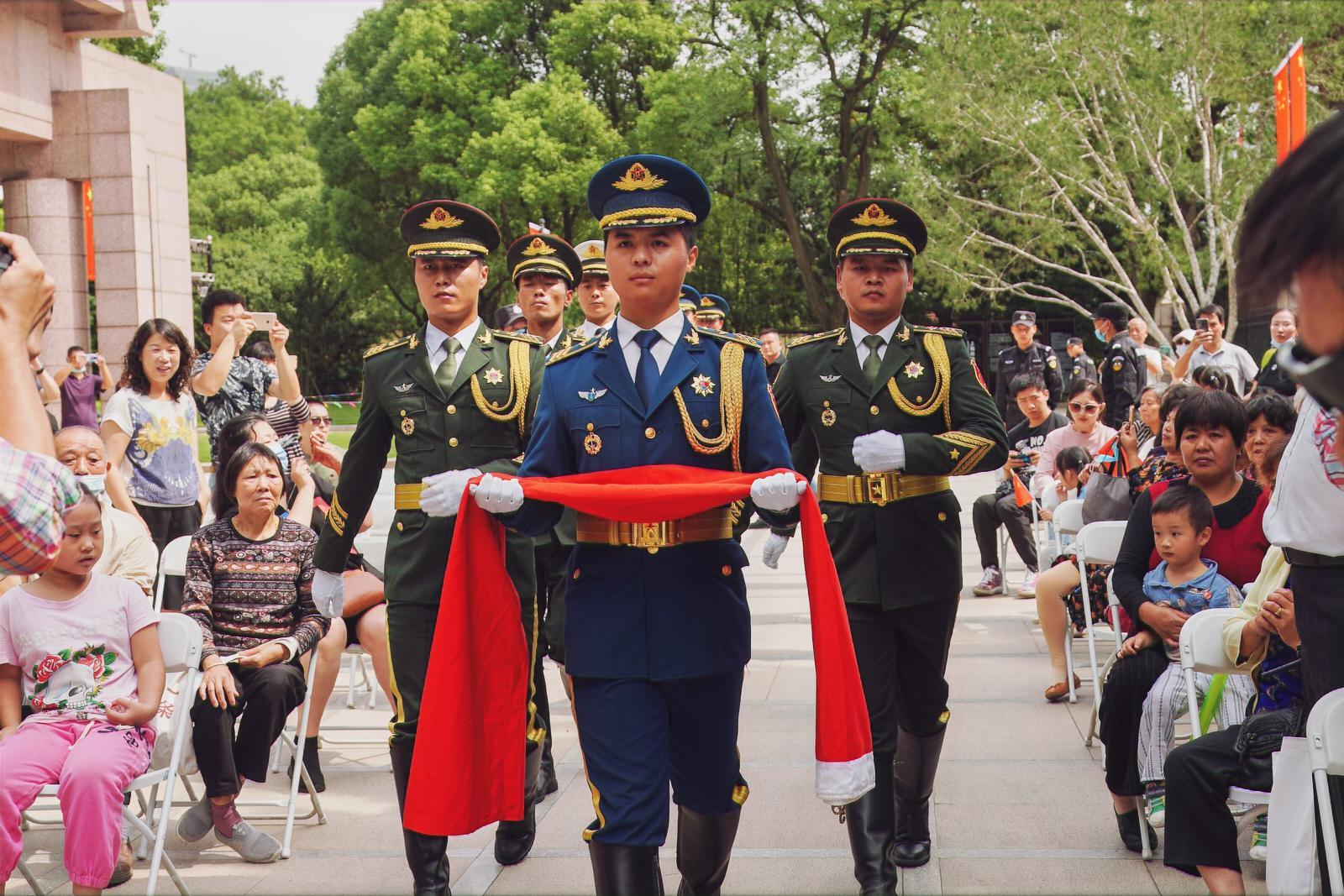 迎接第七个国家烈士纪念日,龙华烈士陵园今举行主题活动缅怀先烈